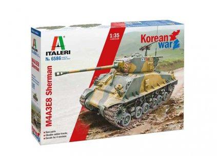 Model Kit tank 6586 M4A3E8 Sherman Korean War 1 35 a121732169 10374