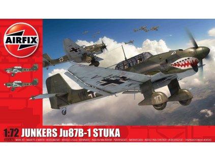 Classic Kit letadlo A03087A Junkers Ju87 B 1 Stuka 1 72 a120681240 10374