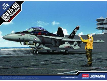 Model Kit letadlo 12560 EA 18G VAQ 141 Shadowhawks 1 72 a105830112 10374