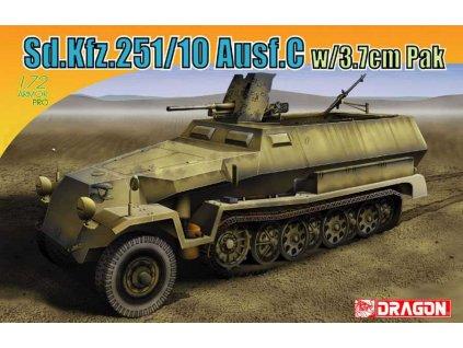 Model Kit military 7314 Sd Kfz 251 10 Ausf C w 3 7cm PaK 1 72 a115855228 10374