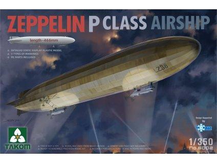 Zeppelin P Class Airship 1:350
