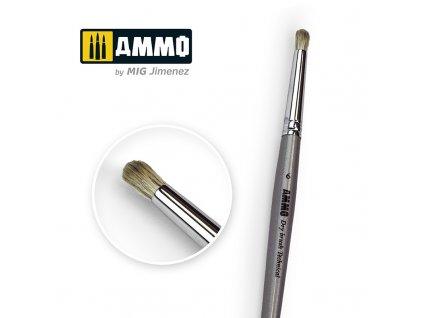 6 ammo drybrush technical brush