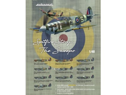 SPITFIRE STORY The Sweeps 1:48