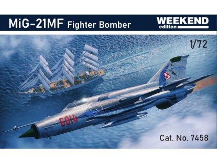 MiG-21MF Fighter Bomber 1:72