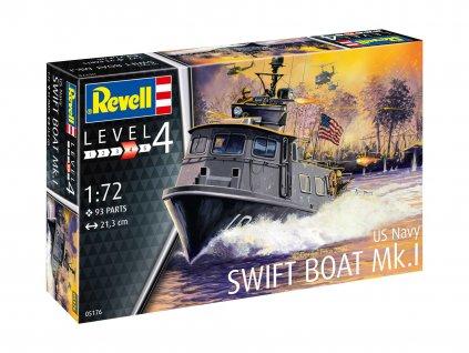 Plastic ModelKit lod 05176 US Navy SWIFT BOAT Mk I 1 72 a119007322 10374
