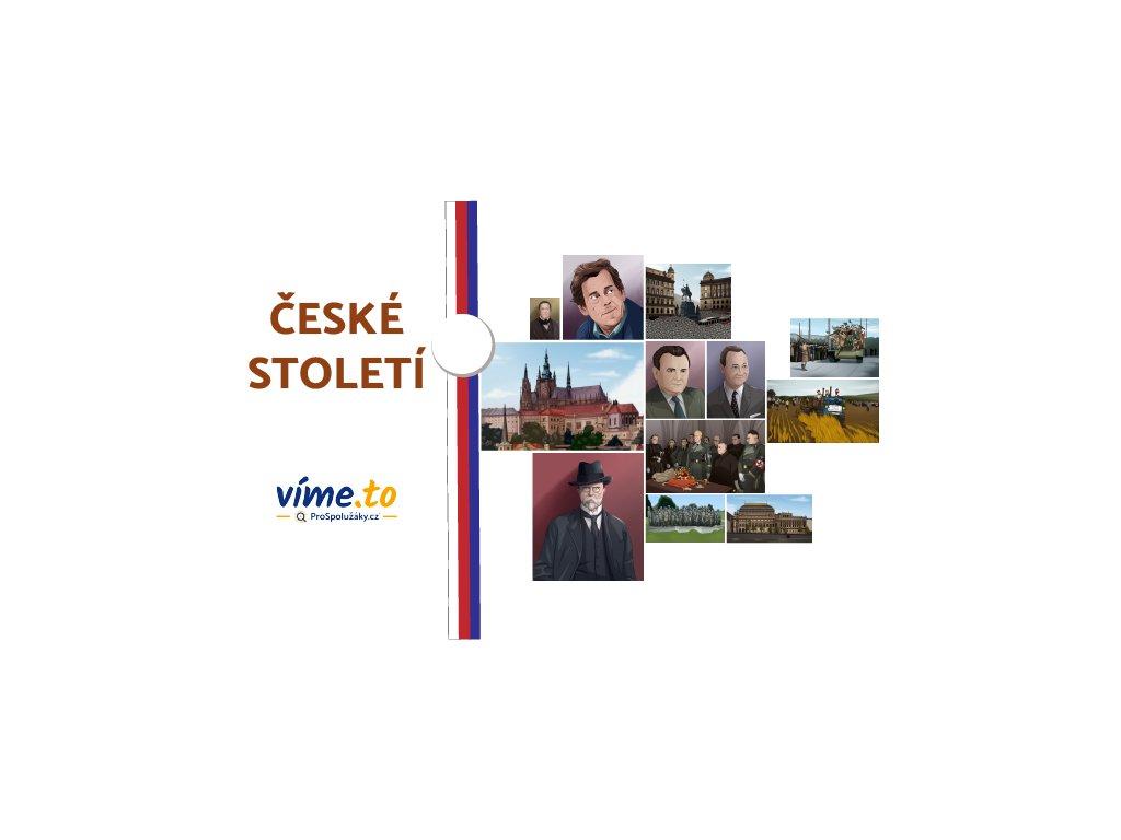 české století návrh obálky