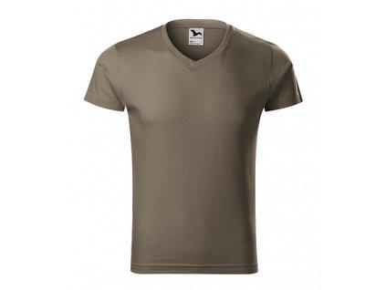 Slim Fit V-neck - Tričko pánské
