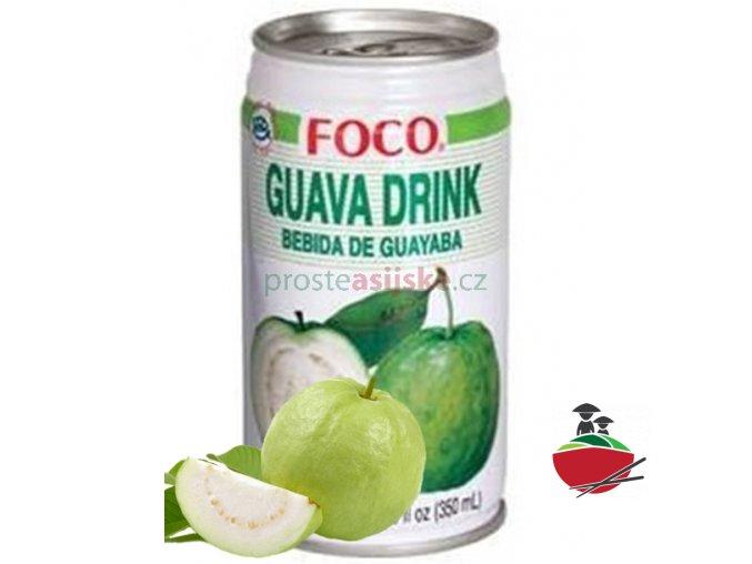 Foco guava džus 350 ml