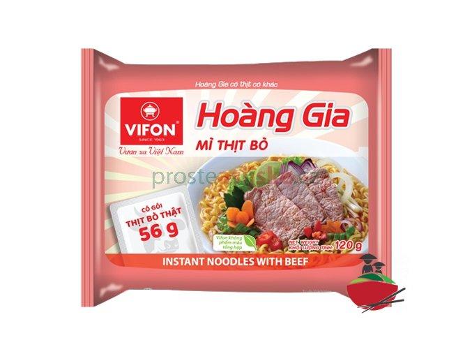 Instatní nudle Hoang Gia - vepřový 120g