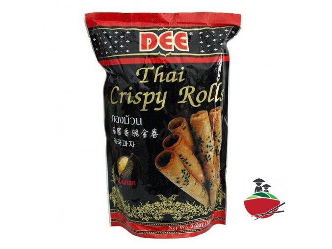 dee thai crispy rolls durian 150g