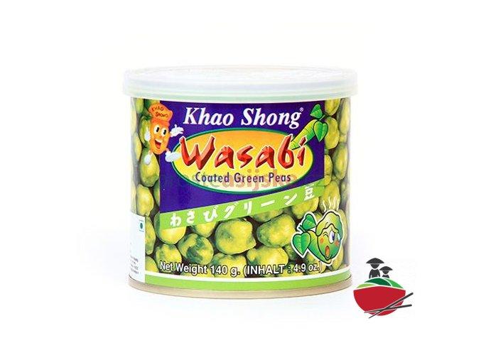Wasabi hrášek KHAO SHONG 140 g
