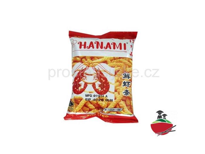 Krevetové chipsy HANAMI 15g x 6ks mini balení