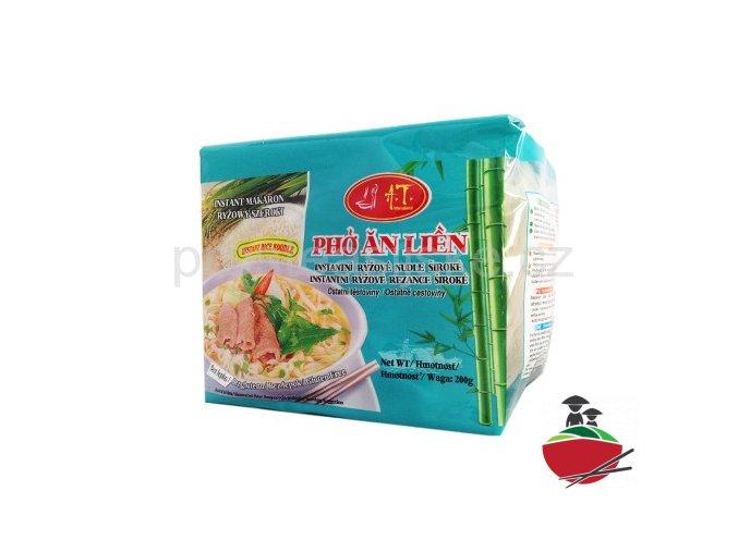"""Rýžové nudle široké """"Ph #7903;"""" instantní 200g"""