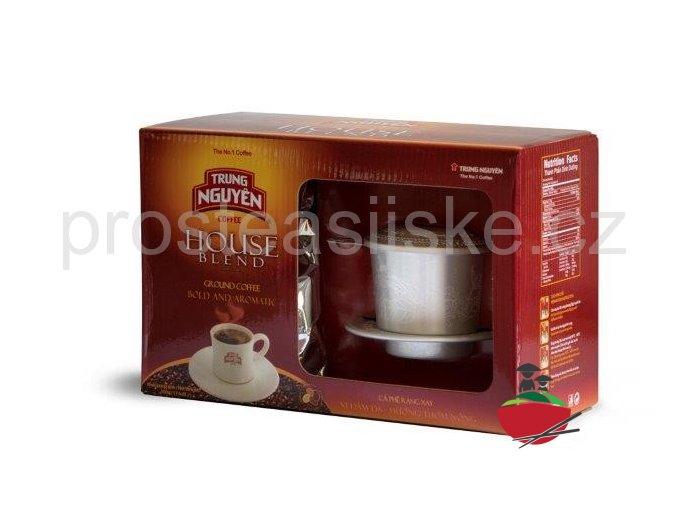 House Blend-Trung Nguyen 500g, vietnamská káva (filtr zdarma)