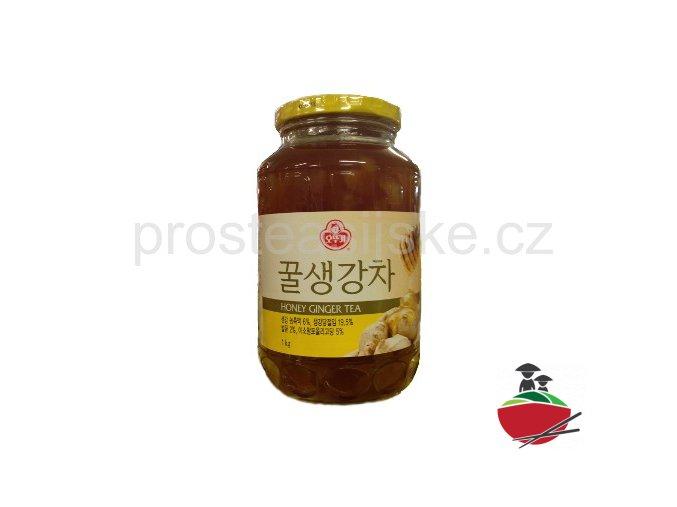 Přísady do čaje - med se zázvorem 1kg