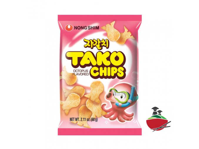 SN1018 Nongshim Tako Chips 농심 자갈치