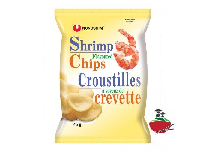 Nongshim Shrimp Flavoured Chips 45g