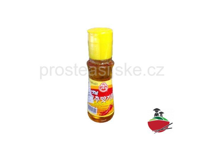 Olej s příchutí červeného pepře 80ml