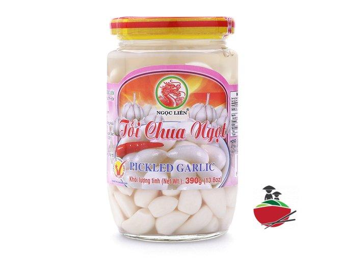 Tỏi chua ngọt Ngọc Liên lọ 390g