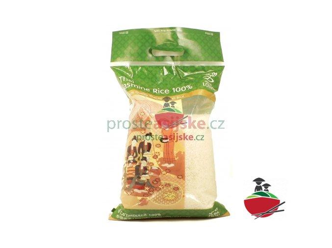 Thai Jasmine Rice 100% 2016 - Jasmínová rýže Thai 4.5kg