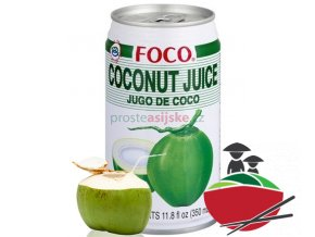 Foco kokos džus - mladý 350 ml