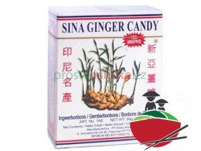 Sina Ginger zázvorový bonbon 56g