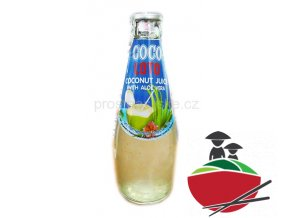 Coco Loto Kokosový džus s Aloe Vera 300ml