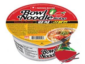 Nongshim polévka Kimchi v misce 86 g