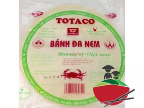 Rýžový papír na jarní závitky 250g  Totaco