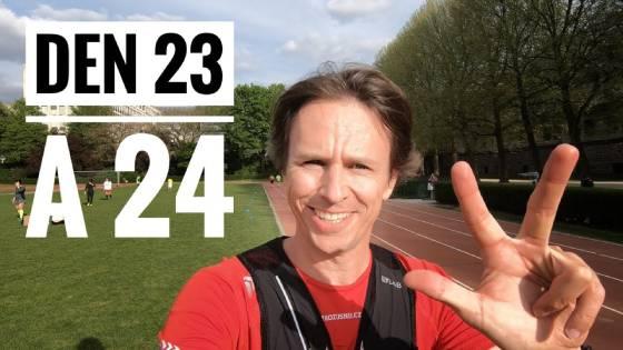 23. a 24. (z 28) den Rozběhni se z chůze 28 dnů