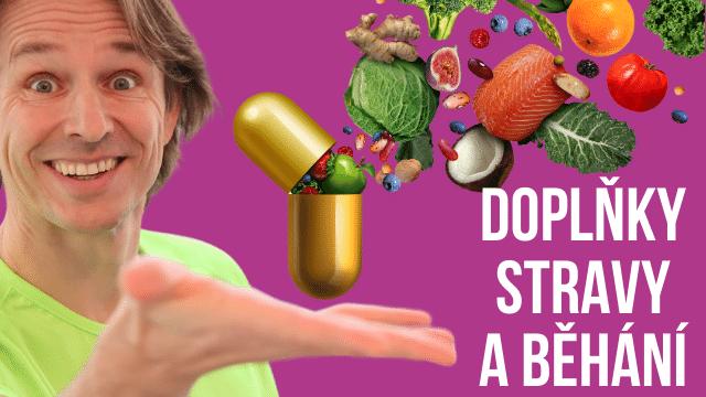 Doplňky stravy a běhání