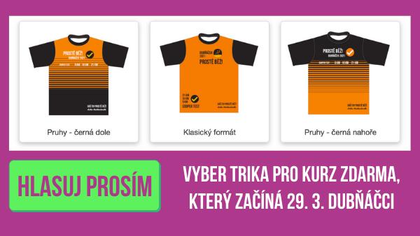 Vyber prosím triko pro Dubňáčky