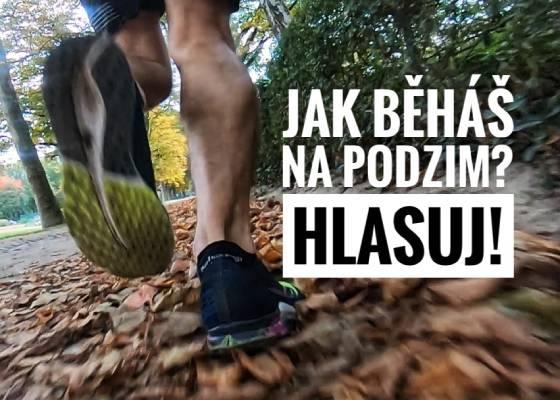Jak běháš na podzim? Hlasuj!