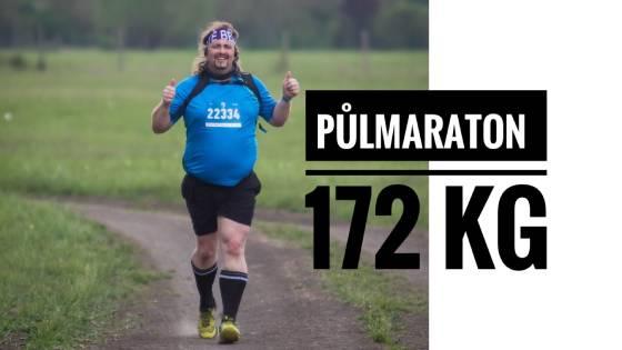 Tonda: Začínal na 172 Kg a zaběhl půlmaraton