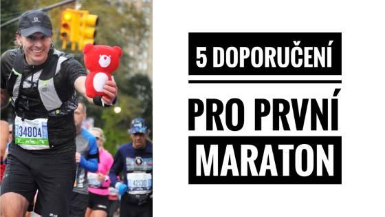 5 doporučení pro první maraton
