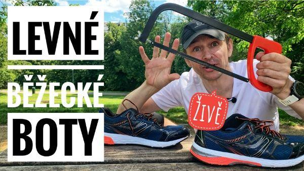 Eda živě: Levné běžecké boty