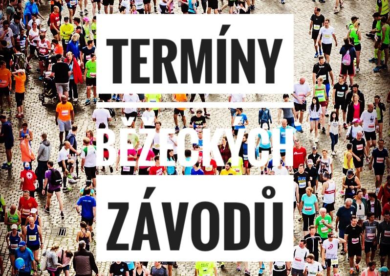 Termíny běžecký závodů