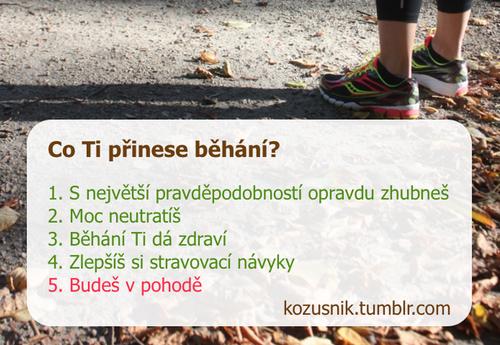 Co Ti přinese běhání?