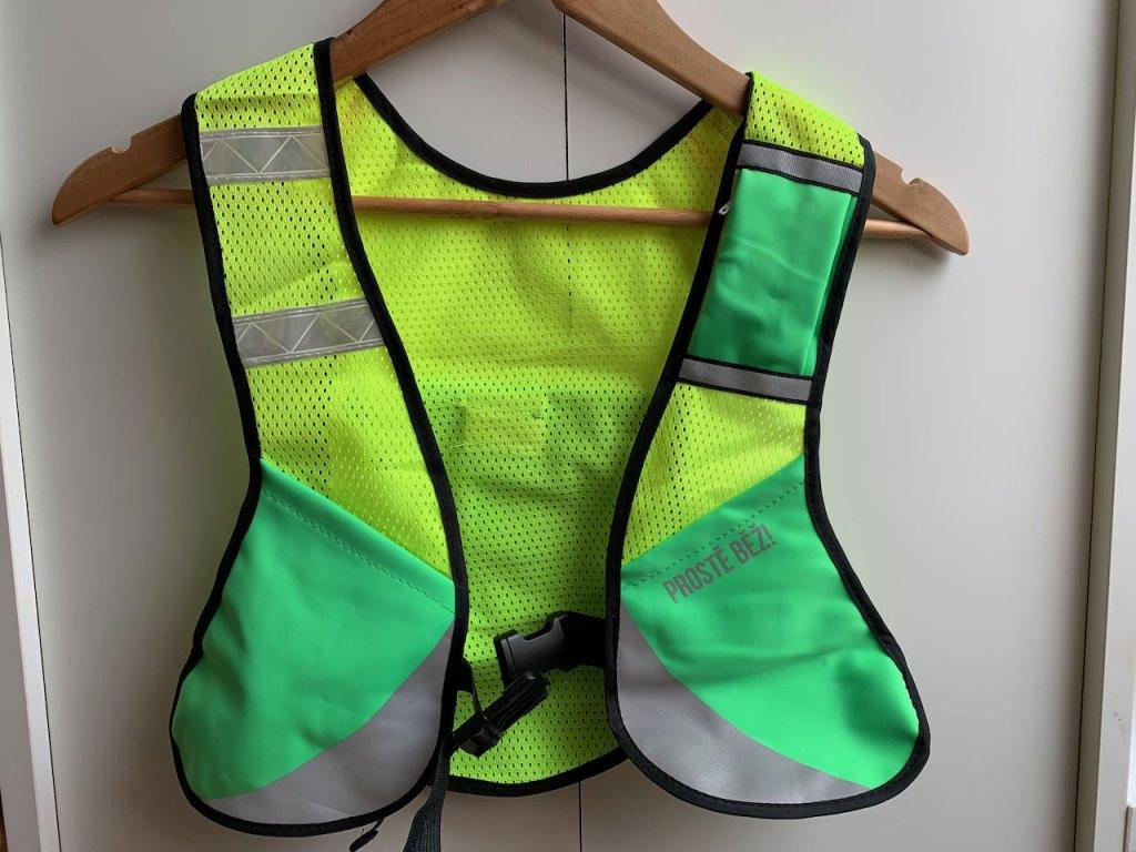 Výprodej - Bezpečnostní běžecká vesta Prostě běž!