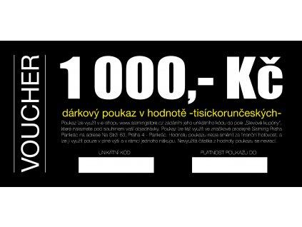 Dárkový voucher v hodnotě 1000 Kč