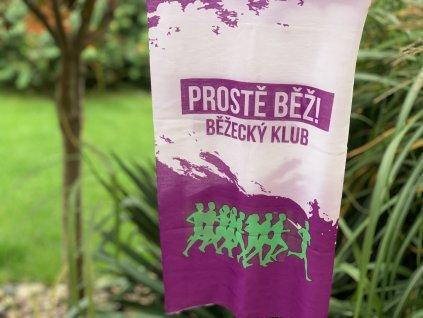 Klubový multifunkční šátek - fialový