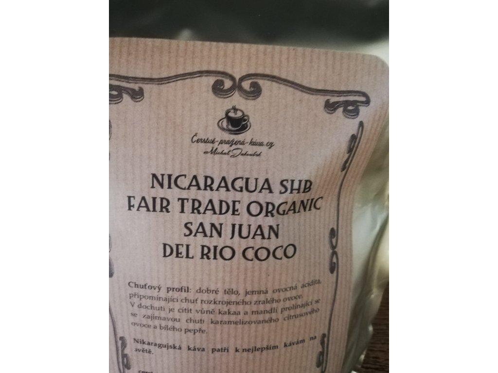 NICARAGUA - WASHED SAN JUAN DEL RIO COCO - FAIRTRADE ORGANIC