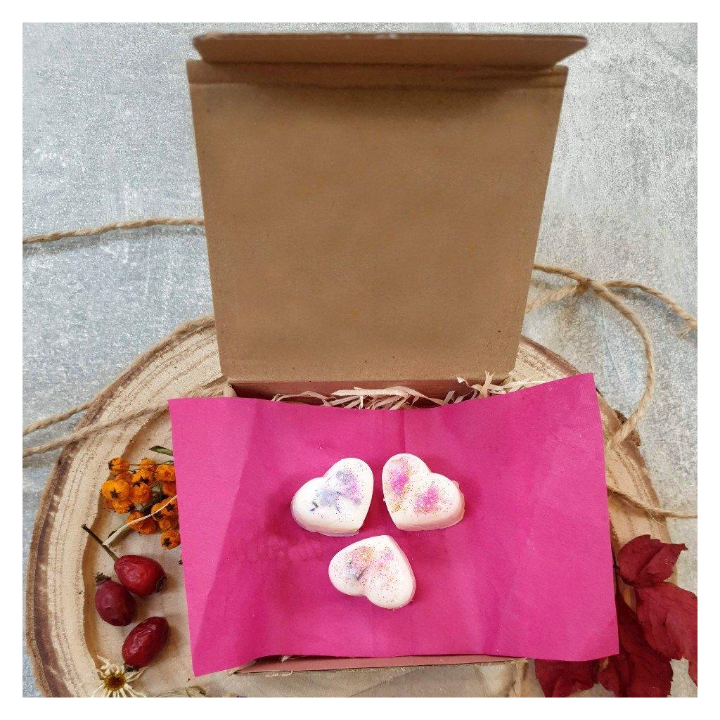Srdíčko baculaté - Růže + lesní plody