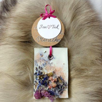 Závěsný dekorační vonný vosk