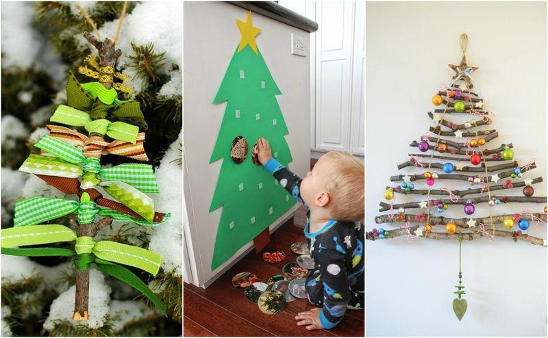 Tvoření vánočních dekorací s dětmi
