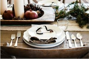 Nejkrásnější vánoční stůl - inspirace