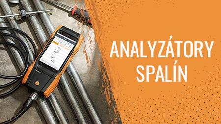 Analyzátory spalín
