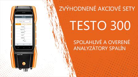 Analyzátory spalín Testo 300