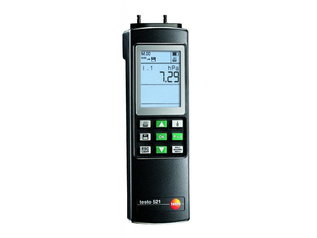 Testo 521-3 Diferenčný tlakomer
