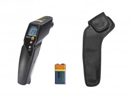 testo 830 T2 set infrared thermometer delivery scope free master